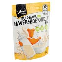 Organic oat and buckwheat porridge