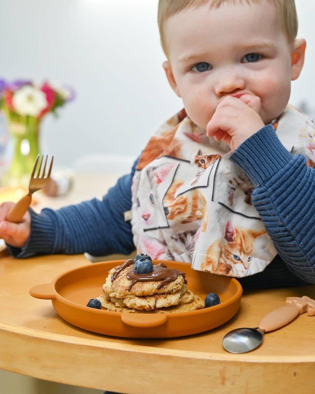 Kindvriendelijk recept: Volkoren (ontbijt) pannenkoeken!
