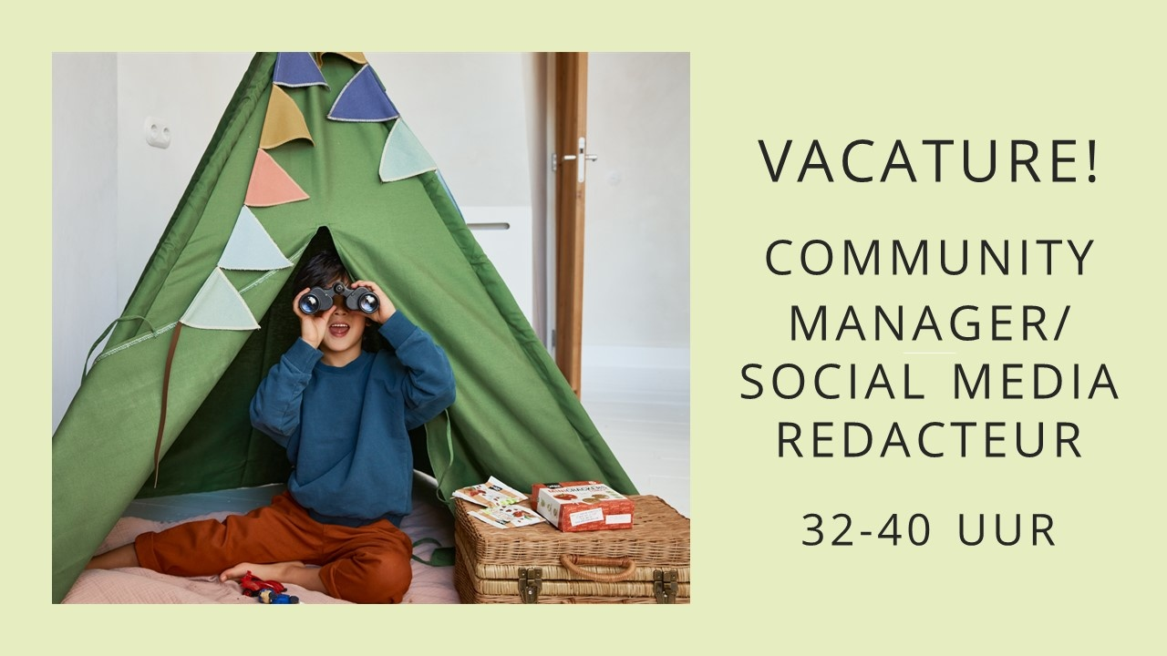 Vacature! Community Manager/ Social Media Manager 32-40 uur