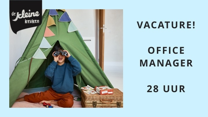 VACATURE! OFFICE MANAGER