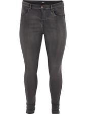Zizzi Jeans Amy grey denim