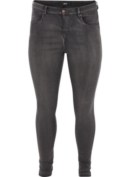 Zizzi Jeans Amy grey denim