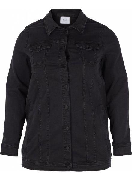 Zizzi denim jacket long