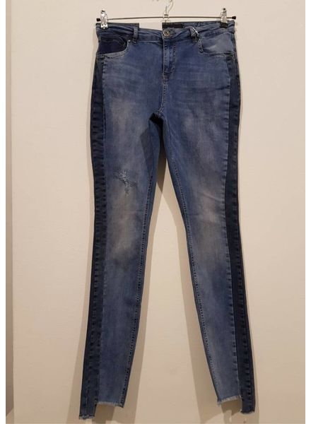Zizzi jeans nille sidestripe