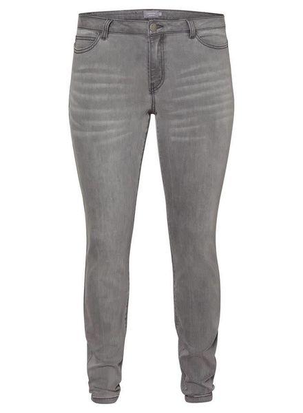 five slim jeans grey