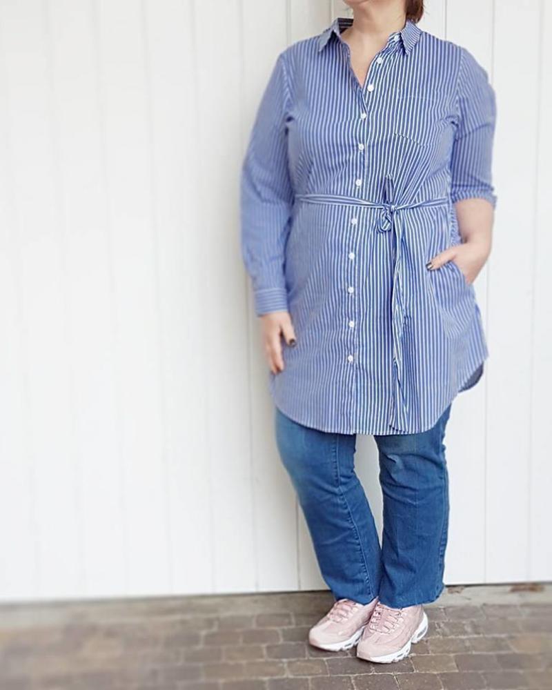shirtdress stripes