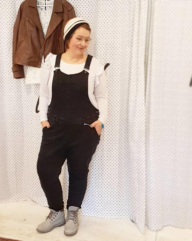Dungaree black washed