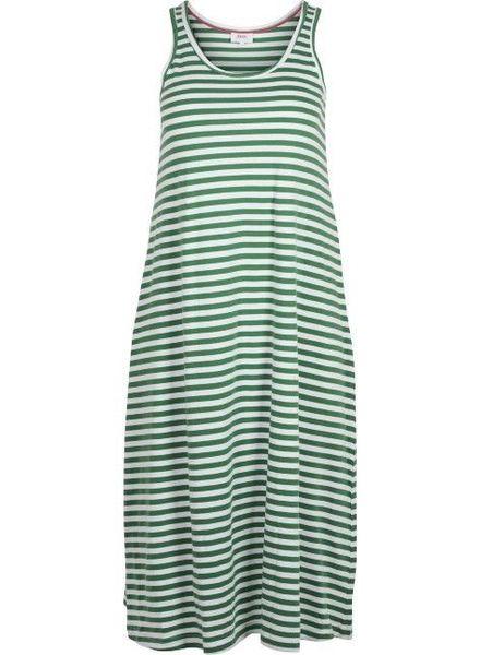 Zizzi Mina 7/8 dress juniper stripe