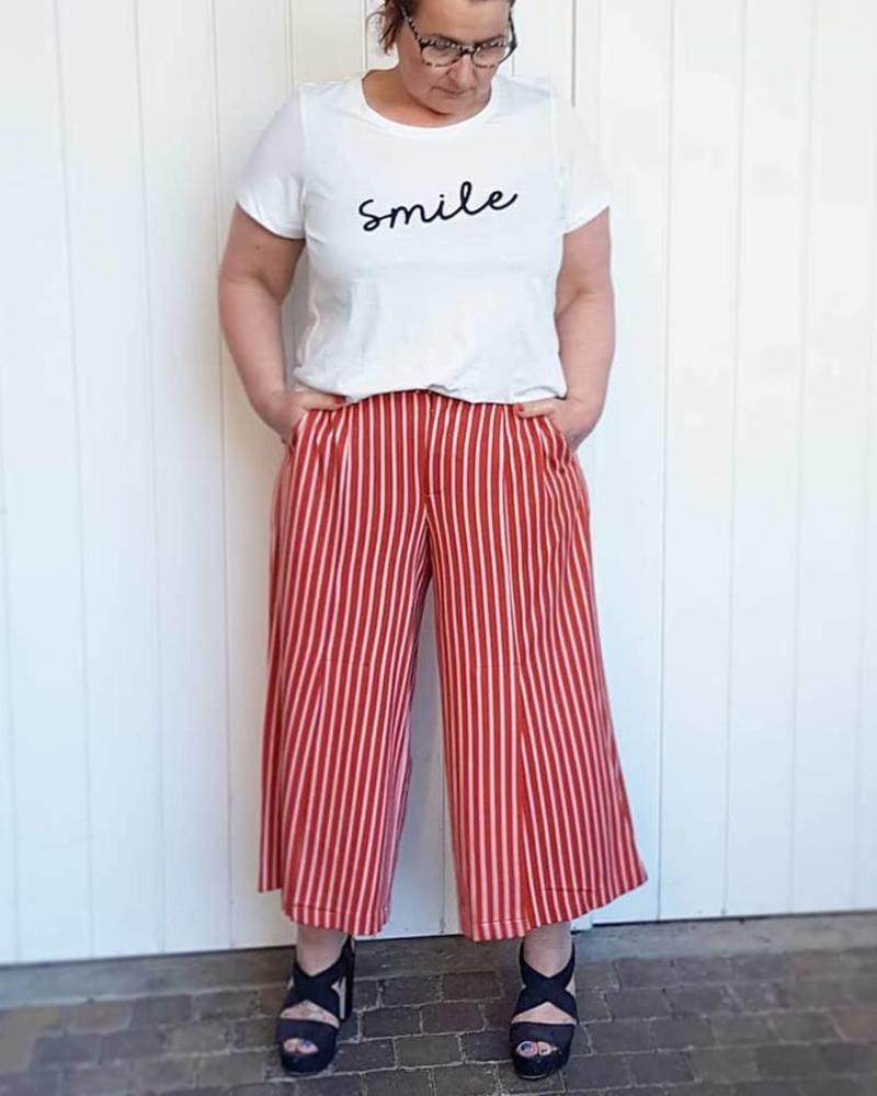 Culotte rooibos tea / smile