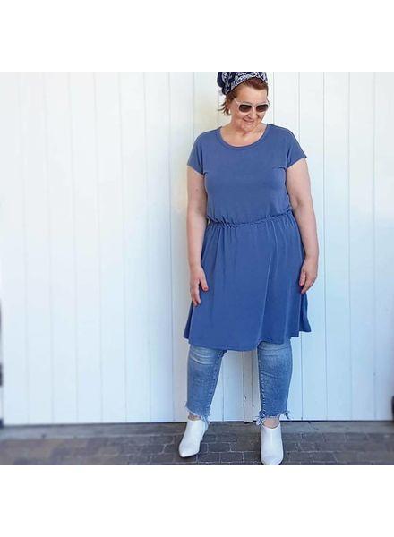 Modal dress vintage indigo