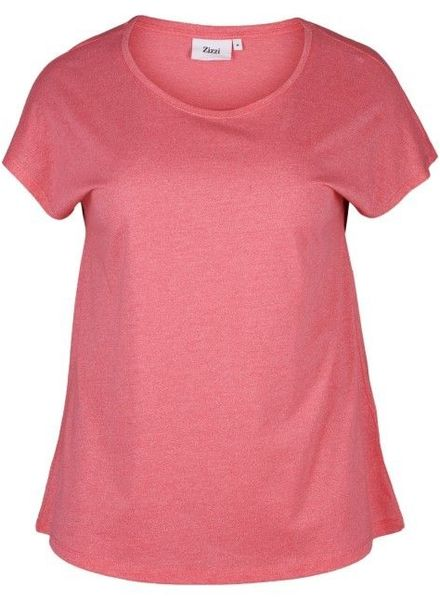 Zizzi basic shirt rose