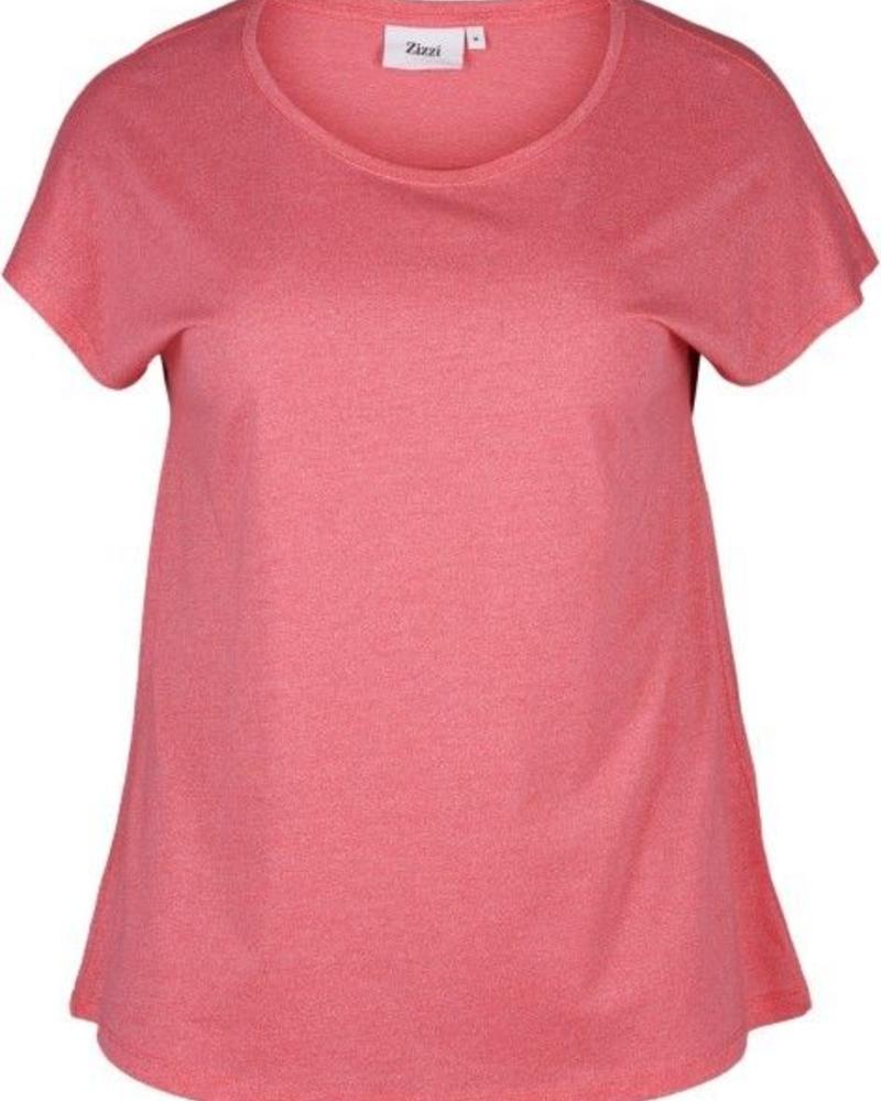 Zizzi basic shirt rose