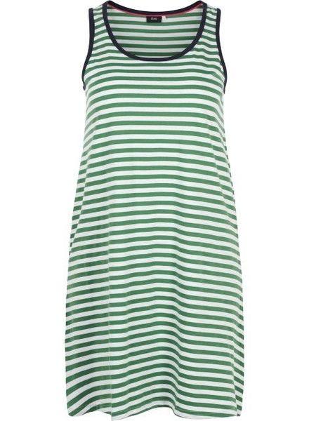 Zizzi dress Mina juniper stripe