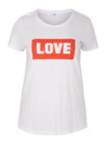 Zizzi tshirt LOVE
