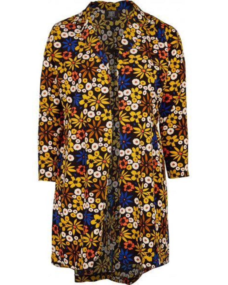 Zoey cardigan vest print