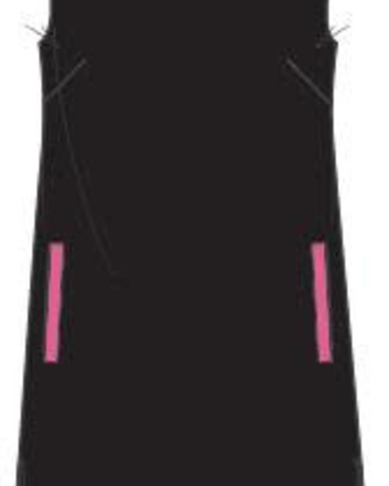 PlusBasics #12-D Shirt top black/pink