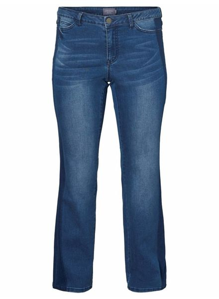 Junarose by Vero Moda Straight jeans sidestripe