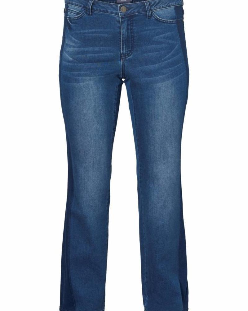 Junarose Straight jeans sidestripe