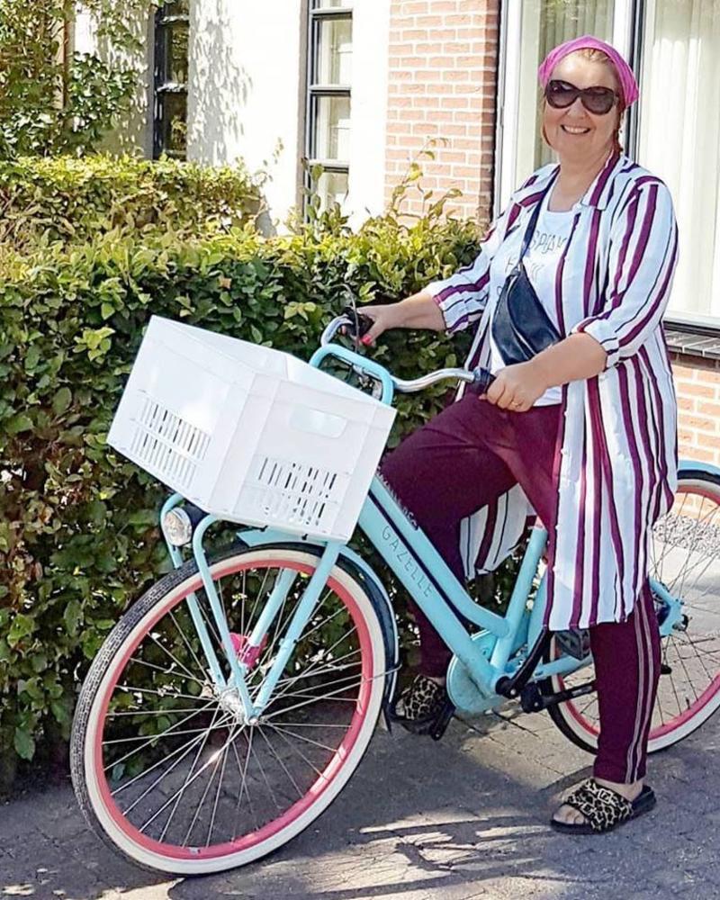 matching outfit & bike