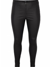 Zizzi Autumn black coated legging
