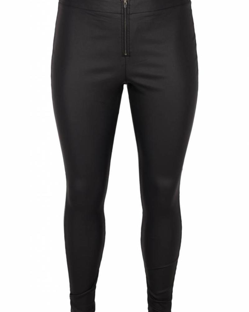 Zizzi Autumn black coated legging
