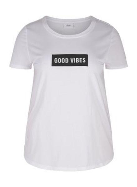 Zizzi tshirt good vibes