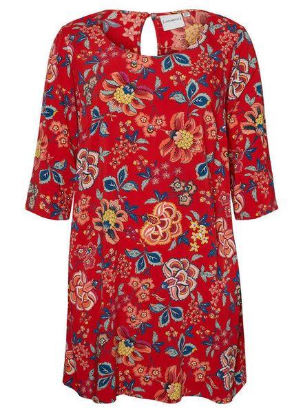 Junarose Dress chinese flowers