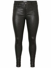 Junarose five black glitter jeans