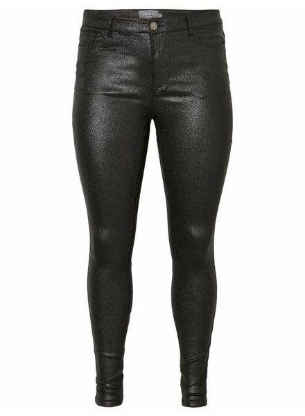 Junarose by Vero Moda five black glitter jeans