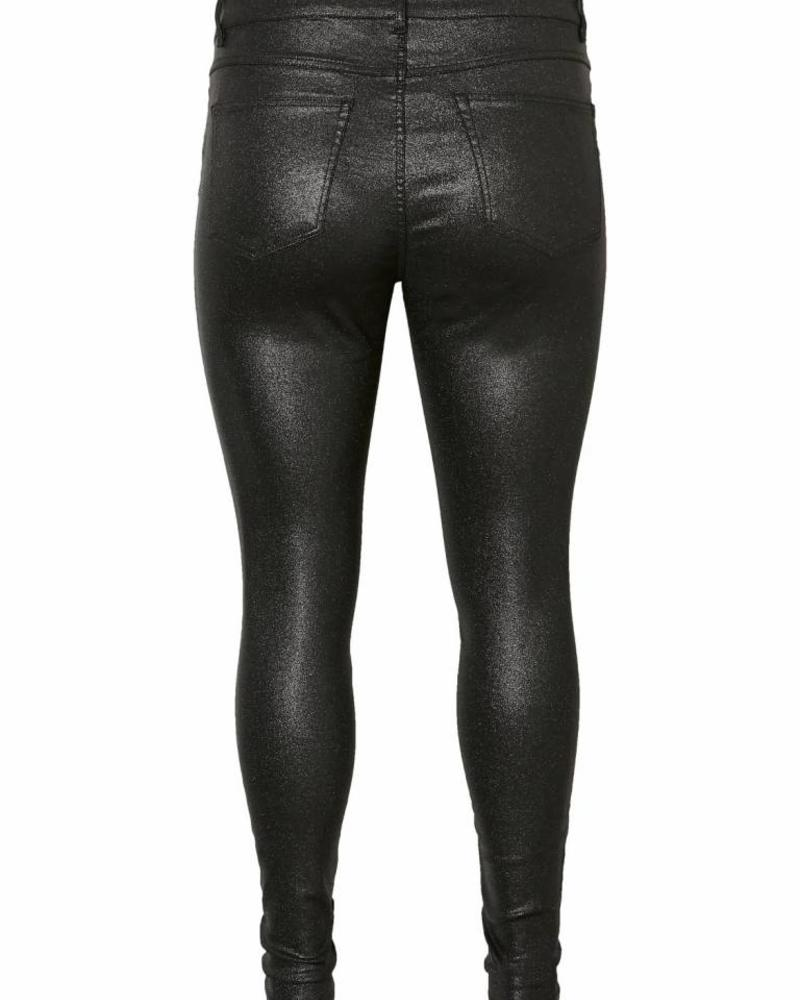 Junarose five black glitter jeans