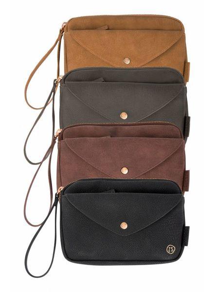 Handige portemonnee-clutch