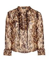 Zoey blouse leopard