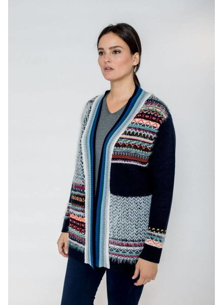 October vest multicolor