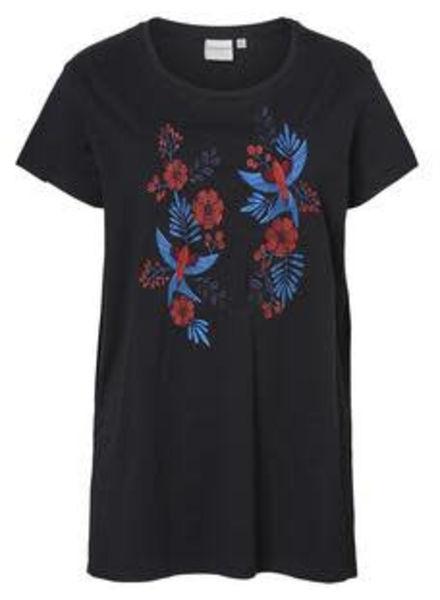 Junarose tshirt flower