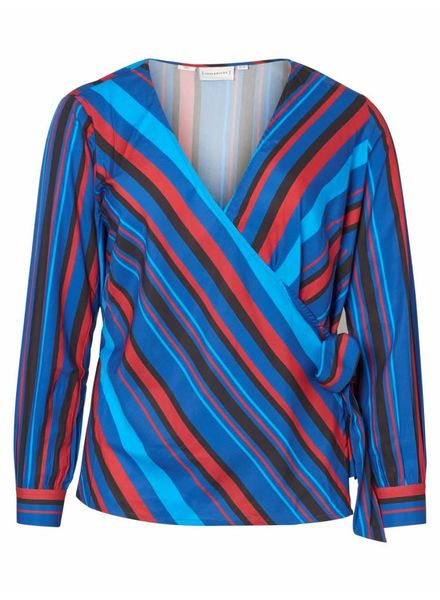 Junarose wrap blouse Kleo