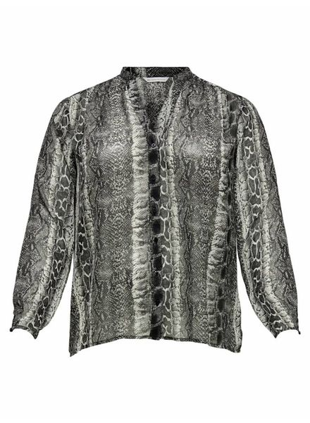 Only Carmakoma Snake blouse