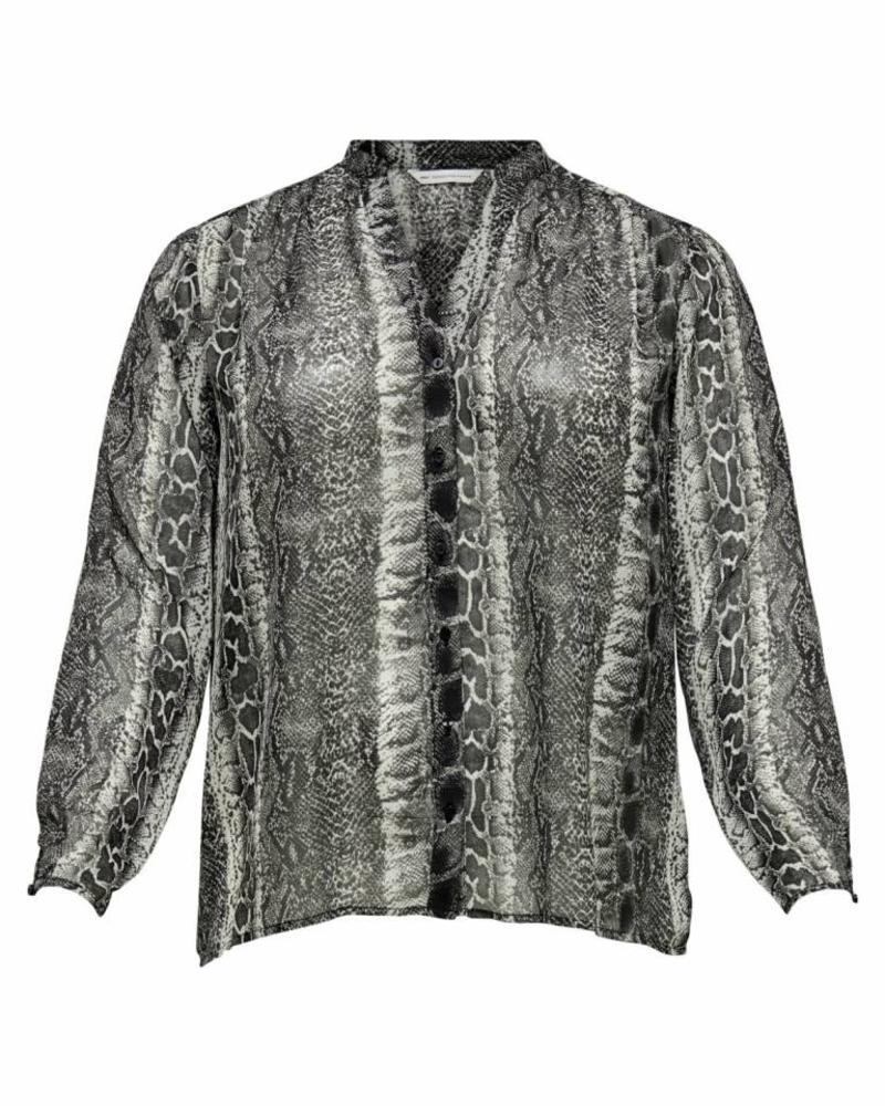 Only Carmakoma Snake blouse