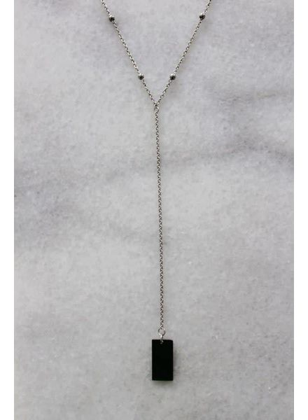 layer necklace zilver