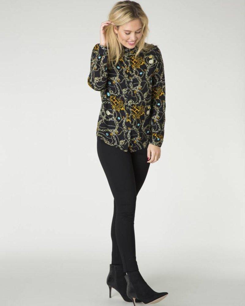 By Beau & Bella blouse Hermes