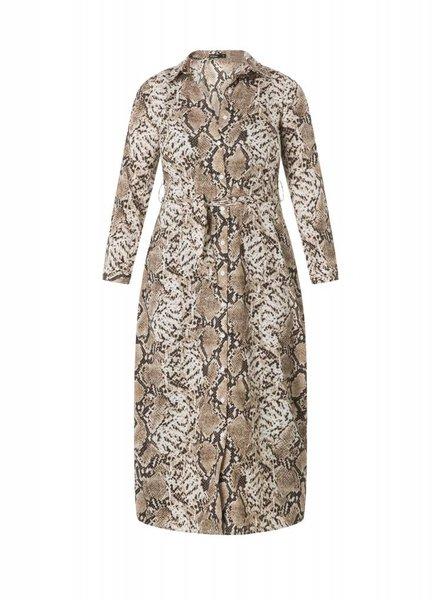 By Beau & Bella shirtdress snake by bella & beau