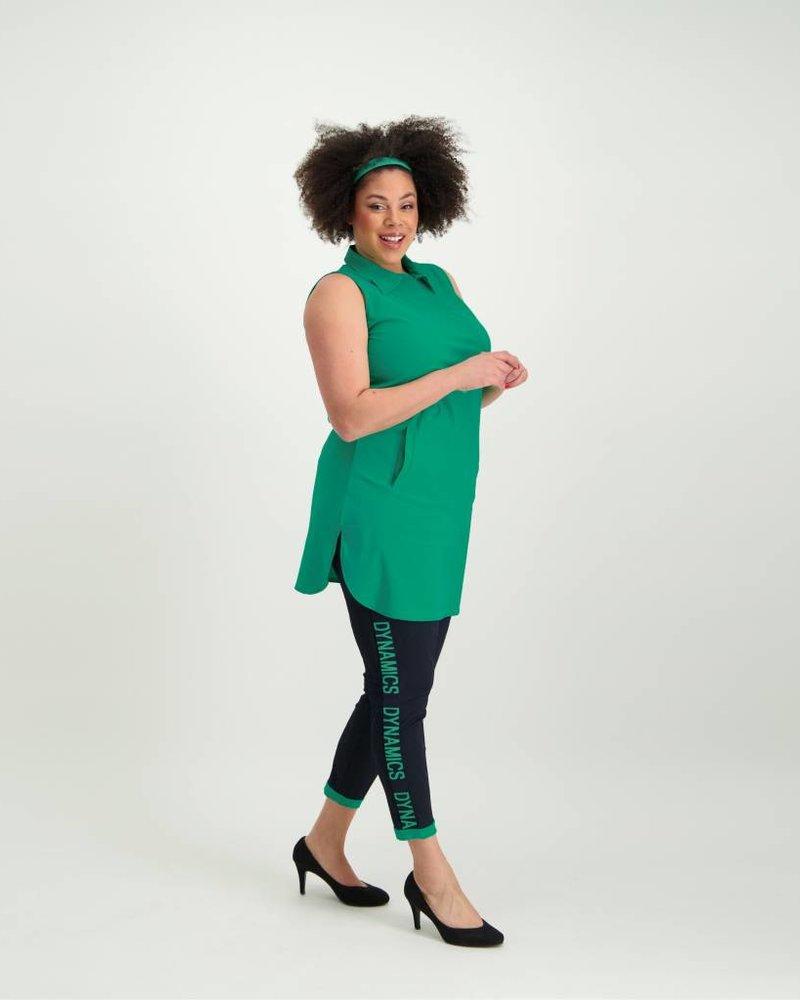 PlusBasics shirt top Plusbasics green
