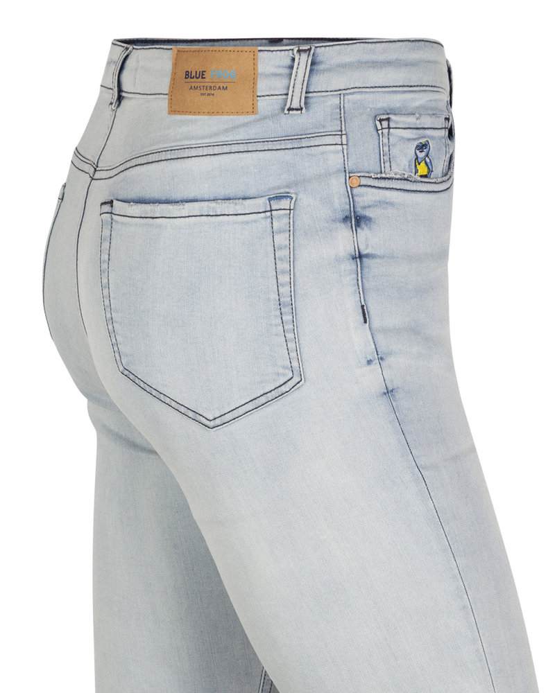Blue Frog Jeans Slimfit jeans Ann 9117 bleached