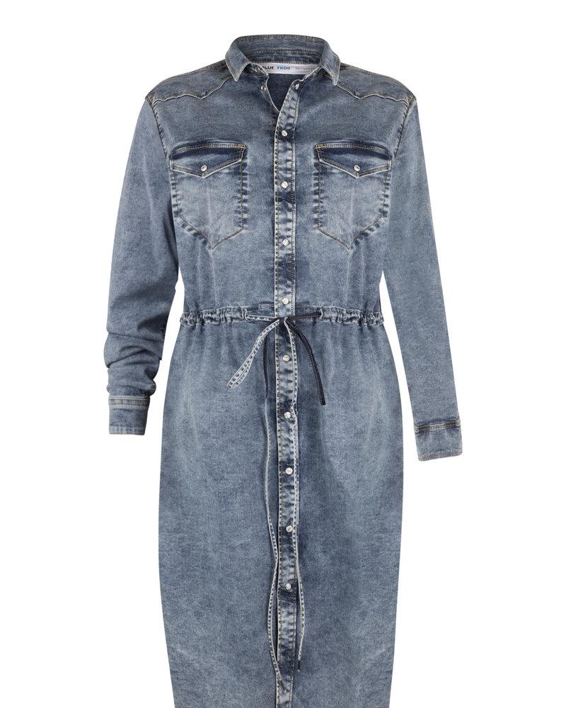 Blue Frog Jeans jeans jurk Lizzy 9161