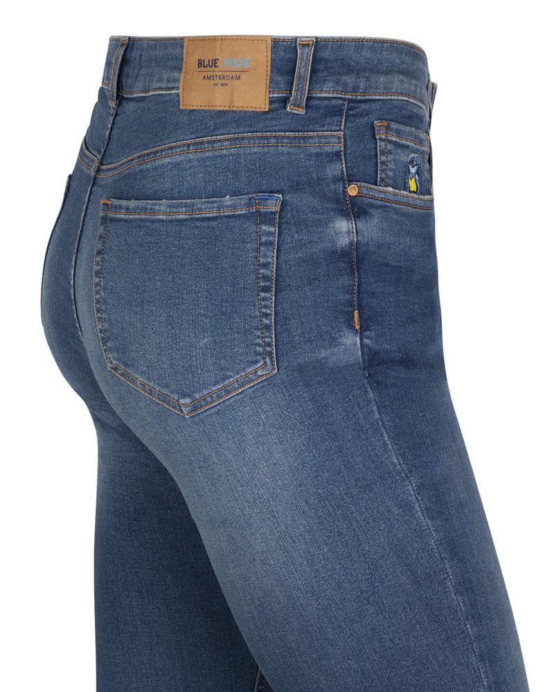 Slimfit jeans Ann medium blue