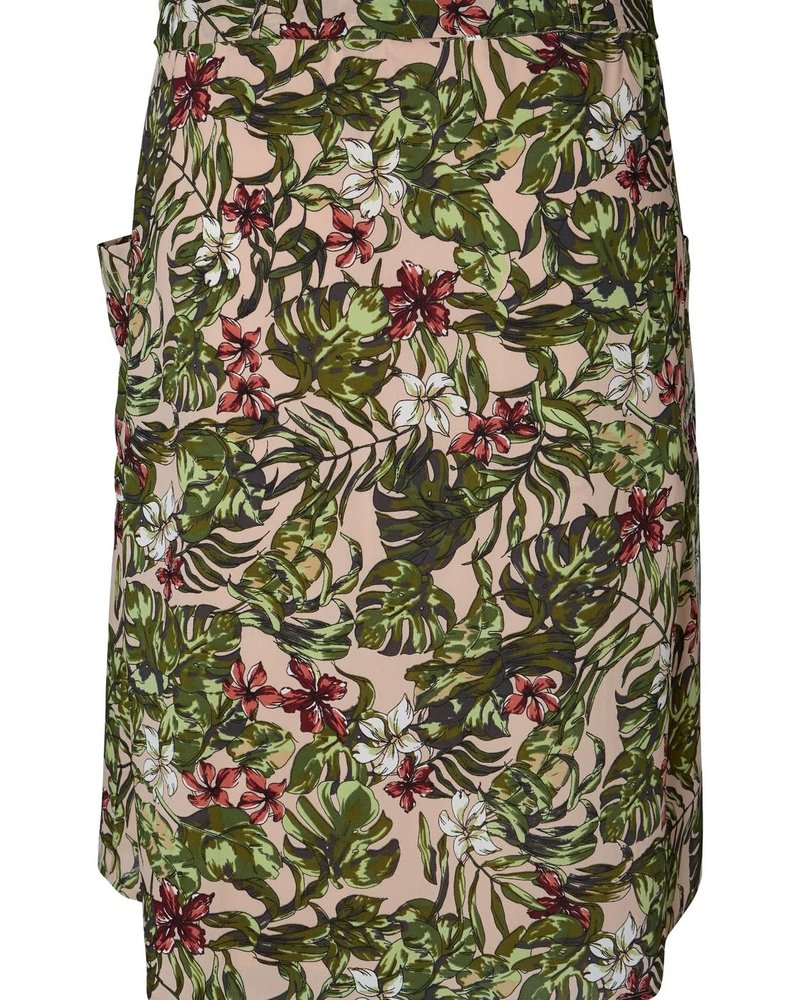 Junarose by Vero Moda midi skirt tropical