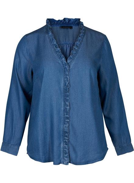 ZAY Denim blouse Yocell
