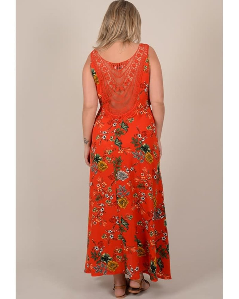 Gabrielle by Molly Bracken maxidress floral red