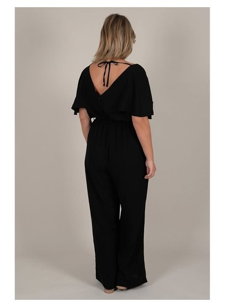 Gabrielle by Molly Bracken jumpsuit zwart