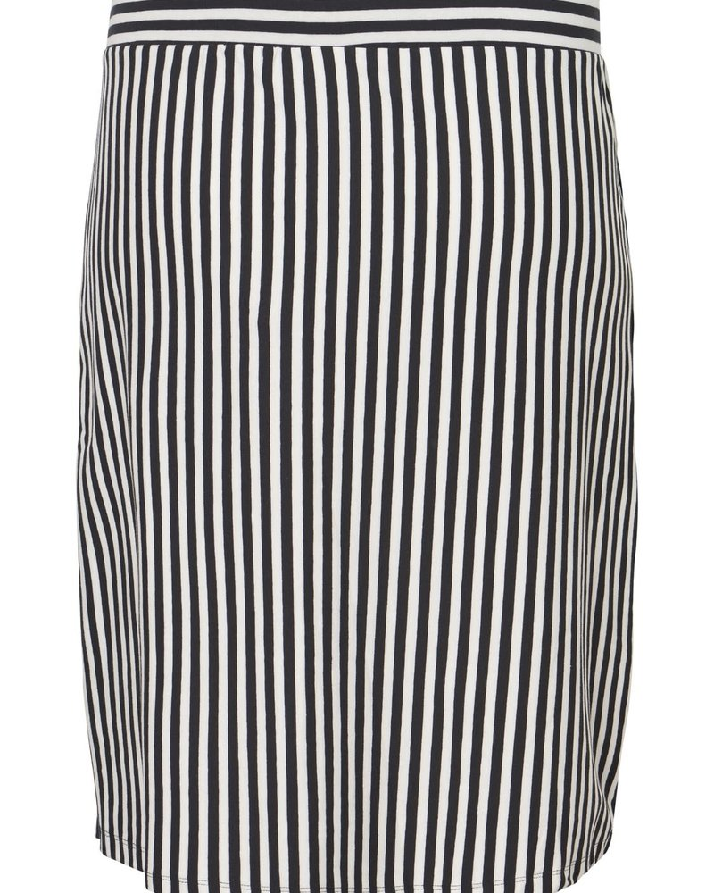Junarose maci below knee streep skirt