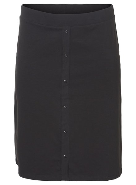 Junarose maci below knee skirt black